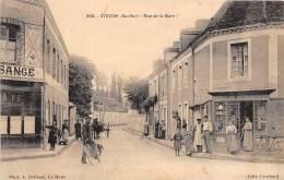72 - SARTHE / Vivoin - 722072 - Rue De La Gare - Beau Cliché Animé - Autres Communes