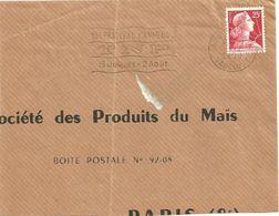 VAUCLUSE - Dépt N° 84 = AVIGNON GARE 1959 = FLAMME SECAP TEMPORAIRE ' FESTIVAL TNP ' - Postmark Collection (Covers)