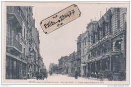 51 Reims - Cpa / Rue De Vesle. - Reims