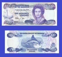 Bahamas  100   Dollars 1974   -- Copy - Copy- Replica - REPRODUCTIONS - Bahamas