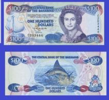 Bahamas  100   Dollars 1974-3   -- Copy - Copy- Replica - REPRODUCTIONS - Bahamas