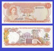 Bahamas  5  Dollars 1974   -- Copy - Copy- Replica - REPRODUCTIONS - Bahamas