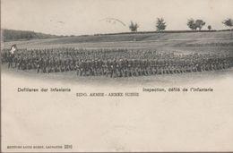 Armée Suisse- Défilé De L'infanterie - Non Classés