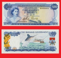 Bahamas  100  Dollars 1965   -- Copy - Copy- Replica - REPRODUCTIONS - Bahamas