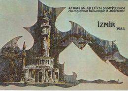 Championnat Balkanique D'athletisme Izmir 1983 - Turkey,motive Mosque - Athlétisme