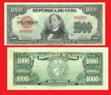 CUBA 1000 PESOS 1947- Copy - Copy- Replica - REPRODUCTIONS - Kuba