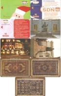Armenia-9 Phonecards,sample - Armenië