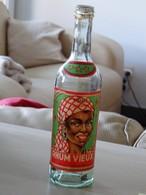 Rhum Vieux - Spiritueux - Distribué Par ( Chais Et Entrepots Du Nordb) 1/2 Litre - Spirits