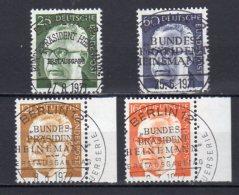 Bund   689 - 692   Gestempelt - [7] República Federal