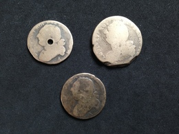 Lot De 3 - Louis XVI - 1789-1795 Monnaies Constitutionnelles