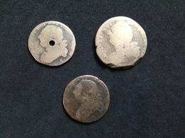 Lot De 3 - Louis XVI - 1789 – 1795 Monete Costituzionali