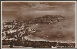 General View Of St Ives, Cornwall, C.1930s - RP Postcard - St.Ives