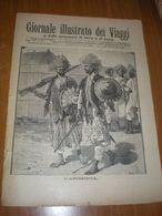GIORNALE ILLUSTRATO DEI VIAGGI N. 367 - 1903  L'ABISSINIA - MEDITERRANEO NIZZA - Libri, Riviste, Fumetti