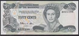 Bahamas 1/2 Dollar L.1974 (1984) UNC - Bahamas
