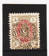 AUA422  FINNLAND 1885  MICHL 24  Used / Gestempelt  ZÄHNUNG Siehe ABBILDUNG - 1856-1917 Russian Government