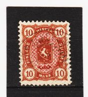 AUA425  FINNLAND 1885  MICHL 26  Used / Gestempelt  ZÄHNUNG Siehe ABBILDUNG - 1856-1917 Russische Verwaltung