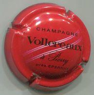 CAPSULE-CHAMPAGNE VOLLEREAUX N°08 Rouge Noir & Blanc - Champagne