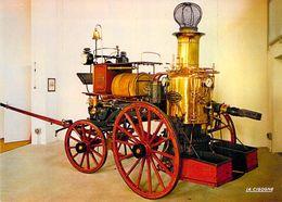 68 - Mulhouse - Le Musée Du Sapeur Pompier - Pompe à Vapeur (1868).  Photo Rudler - Mulhouse