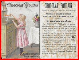 CHROMOS. Chocolat POULAIN. Fillette  Et Chocolat...H493 - Poulain
