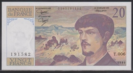 France 20 Francs 1980 UNC - 20 F 1980-1997 ''Debussy''