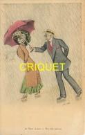 Illustrateur Xavier Sager, Le Vieux Galant, Carte Pas Courante - Sager, Xavier