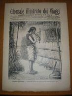 GIORNALE ILLUSTRATO DEI VIAGGI N. 370 - 1903  I SELVAGGI DI FORMOSA - MEDITERRANEO SMIRNE - Andere