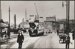 London United Tramways Car No 296 - Repro Photograph - Reproductions