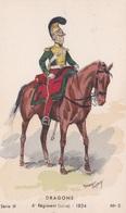 MAURICE TOUSSAINT DRAGONS 6ème REGIMENT 1824  ACHAT IMMEDIAT - Régiments