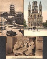 Laeken- 3 Cartes - Boulanger, Elèves à La Cuisine, Wilhelm Hoffmann, Timbre Taxe) - Laeken