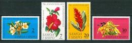 1969 Samoa Flowers Blumen Fleurs  MNH** Fio199 - Samoa
