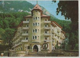 Romania Baile Herculane Herkulesfurdo Hotel Cerna Restaurant Stamp 7912 Post Card Postkarte POSTCARD - Rumänien