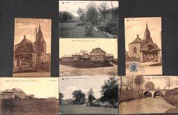 Lierneux - Lot Intéressant 7 Cartes (Eglise Pont Colonie...) - Lierneux