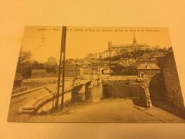Carte Postale Lobes Pont Sur La Sambre Et Pont Des Chemins De Fer Du Nord Et De L'état Belge - Lobbes