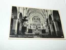 Betlehem - Interior Of Saint Catherine Church Palestine - Palestina