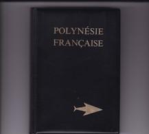 Album Din A5 Polynésie Française Impeccable 16  Pages Fond Noir 5 Bandes Par Pages PORT INCLUS - Albums Met Klemmetjes