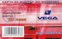 Bulgaria, 20 ?, VEGA Internet Service Provider, 2 Scans. - Bulgaria