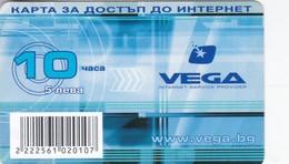 Bulgaria, 5 ?, VEGA Internet Service Provider, 2 Scans. - Bulgaria