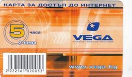 Bulgaria, 3 ?, VEGA Internet Service Provider, 2 Scans. - Bulgaria