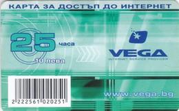 Bulgaria, 10 ?, VEGA Internet Service Provider, 2 Scans. - Bulgaria