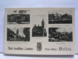 ALLEMAGNE - DAS SCHÖNE DESSAU - AUS DEUSTCHEN LANDEN - FELPOST 1940 - CORRESPONDANCE NAZIE / SS - Dessau
