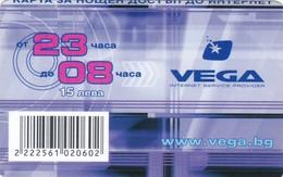 Bulgaria, 15 ?, VEGA Internet Service Provider, 2 Scans. - Bulgaria