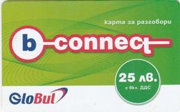 Bulgaria, BG-GLV-REF-0002?, 03.B Connect Voucher - First Edition, Green 25, 2 Scans.  Exp. : 10/04/2005 - Bulgaria