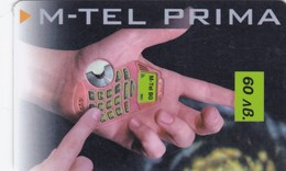Bulgaria, BG-V-REF-0002,  01. Prima Voucher - First Edition, Handphone 60, 2 Scans. - Bulgaria