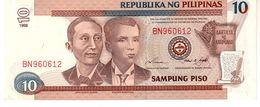 Philippines P.187 10  Piso  1998  Unc - Filippine