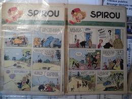 Lot De 2 Spirou 648 /  649 - Spirou Magazine
