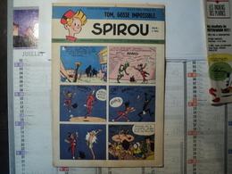 SPIROU N°759 DU 30 OCTOBRE 1952 LUCKY LUKE / FRANK GODWIN.... - Spirou Magazine