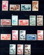 MAROC. N°224-37 De 1945-47. Série Courante. - Unused Stamps