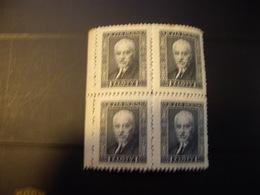 POLOGNE  344 D 11-1/2 Papier Vergé Horizontalement  1928-32  En Bloc  NEUF** - 1919-1939 Republic