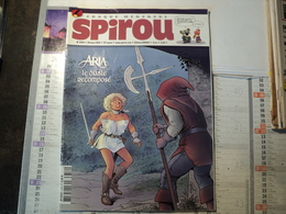 SPIROU N°3754 DU 24 MARS 2010. 1°PLAT DE MICHEL WEYLAND MELUSINE / LES PSY / BINET /... - Spirou Magazine