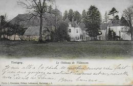 TINTIGNY ..-- Château De VILLEMONT . Vers PARIS . Voir Verso . - Tintigny